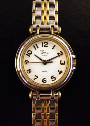 Timex классические винтажные часы из сша сборка philippines