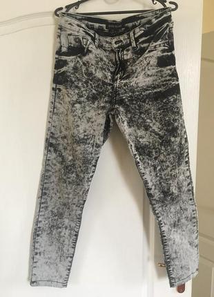 Серые джинсы-варёнки