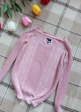 Брендовый свитер кофта кофточка из органического хлопка no name