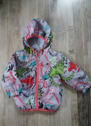 Демисезонная ветровка куртка на мальчика next некст 1-1,5года.