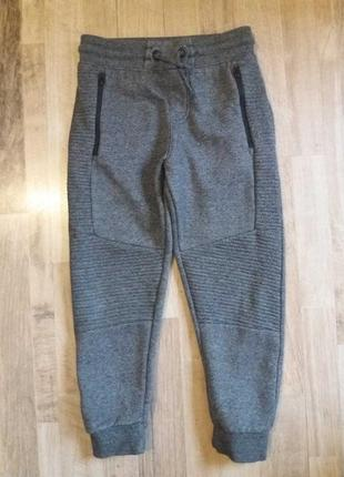 Теплые спортивные штаны брюки george на мальчика 6-7лет.