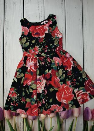 Красивое коттоновое платье