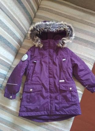 Зимняя куртка lenne. рост 110.
