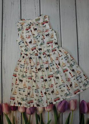Коттоновое платье i ❤ next