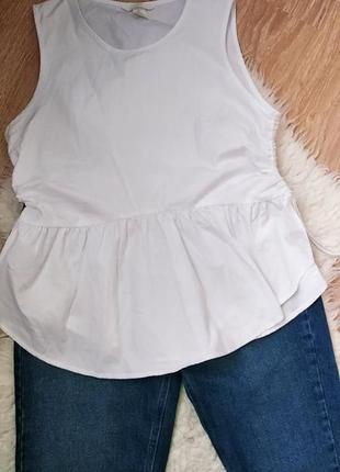 Базовый топ блуза h&m
