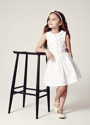 Кружевное нарядное летнее платье от george