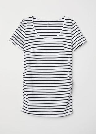Полосатая футболка для беременных на xs s беременным полоску полоска н м нм 086772d12c976
