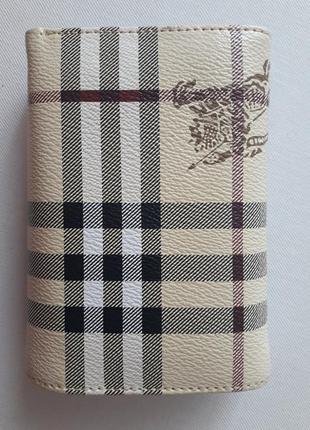 Стильный кошелечек в стиле burberry...нюанс...