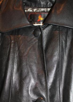 Шок-цена!!! натуральное кожаное пальто.