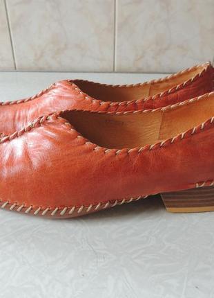 Новые кожаные туфли mascotte,италия, р39