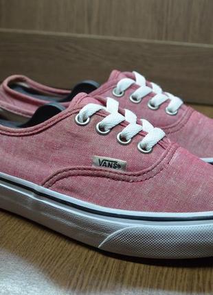 Vans розовые кеды