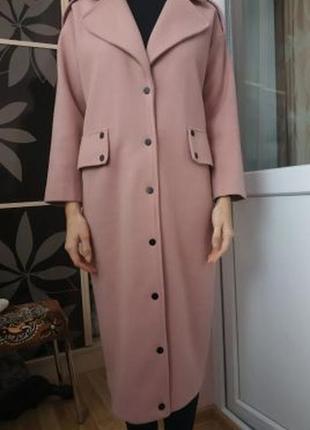 Пальто кашемір. кашемировое пальто