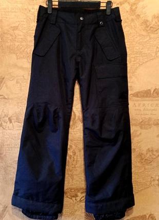 Подростковые лыжные/сноубордические штаны на мальчика фирмы burton