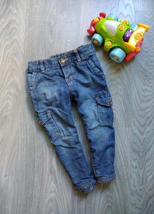 86р  h&m демисезонные джинсы