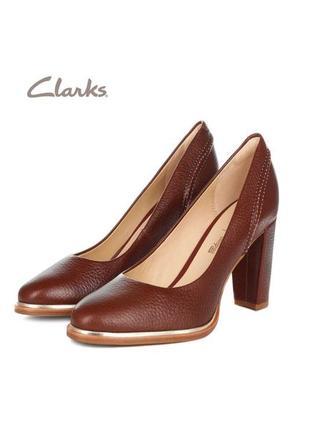 3551 туфлі clarks uk3/eu35,5 шкіра сток
