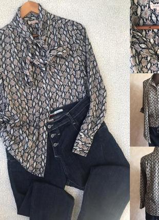Красивая рубашка-блузон идеал s/m