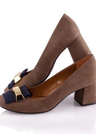 Туфли женские vicenza 0312/58 коричневые