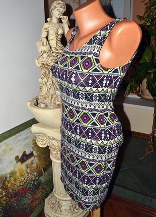 Платье туника с орнаментом от h&m
