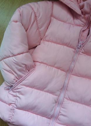 Куртка для дівчинки на зріст 98-100см