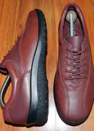 Hotter ! оригинальные, стильные,кожаные невероятно крутые туфли-кроссовки