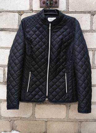 Дутая стеганая куртка на весну демисезон