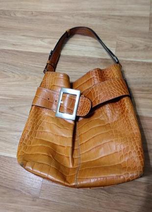 Трендовая сумка 2019 , натуральная кожа