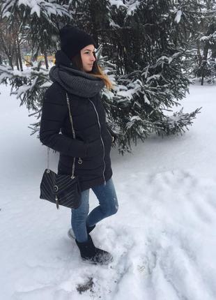 Куртка удлиненная зима*