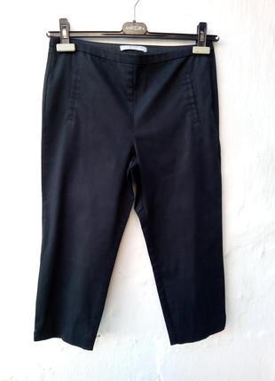 Стильные базовые черные бриджи,капри,брюки,классические.