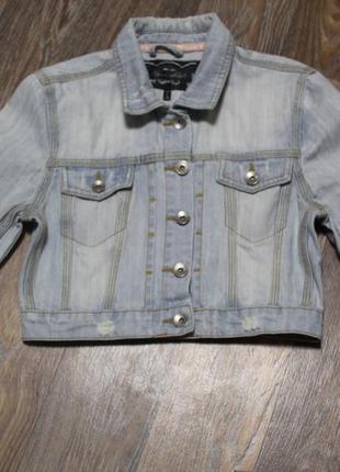 Джинсовая куртка brave soul в идеальном состоянии xs