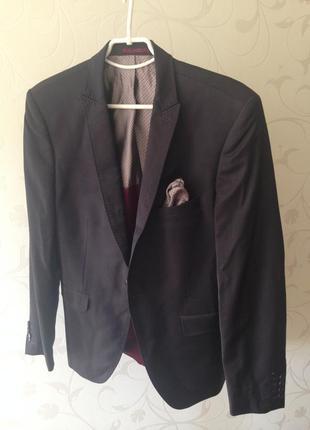 Мужской пиджак devred extra slim fit  размер m