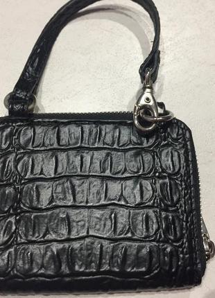 Кожаный кошелёк, портмоне mng accessories