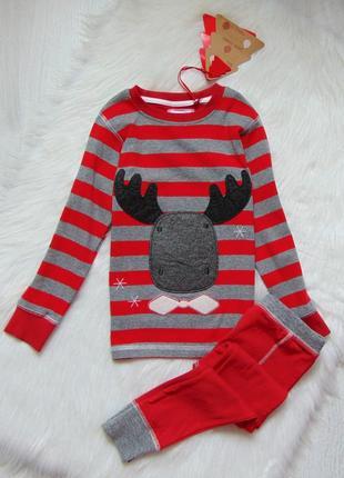 Next. размер 4-5 лет. новая яркая пижама для мальчика
