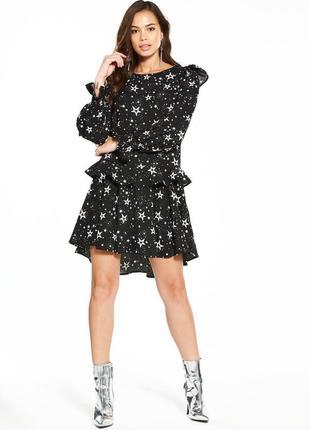 Красивое платье в звезды