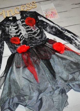 Бомбезное карнавальное платье