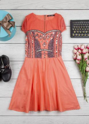 Нарядное платье от love label рр -14 наш 48