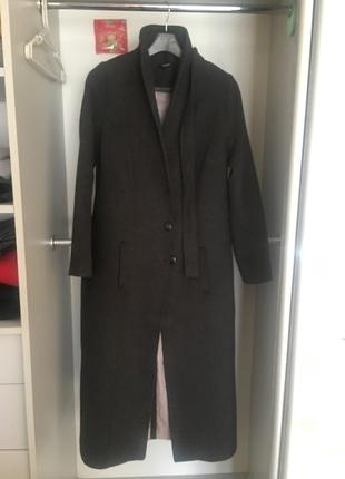 Итальянское длинное пальто