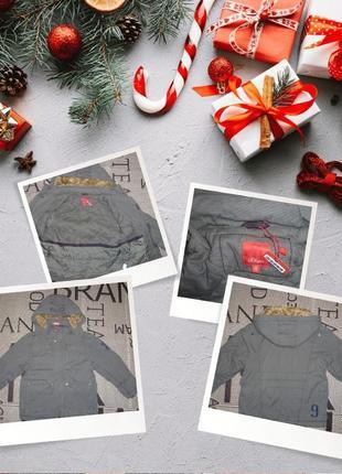 Куртка s.oliver (р.128 на 7-8 років) парка курточка