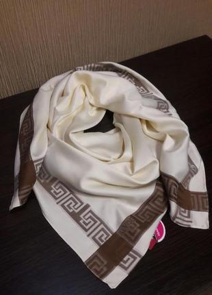 💝роскошный турецкий платок атласный люкс
