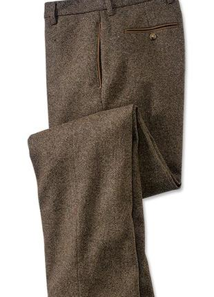 Orvis твидовые штаны мужские шерстяные