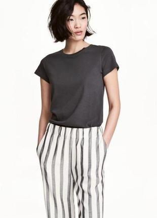 Оригинальная футболка с коротким рукавом от бренда h&m разм. s