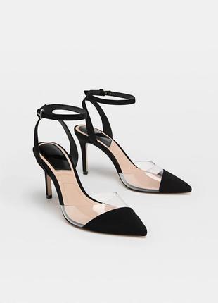 Новые шикарные эффектные туфли лодочки