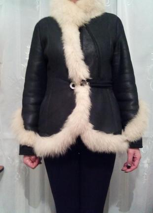 Шуба курточка дубленка натуральная