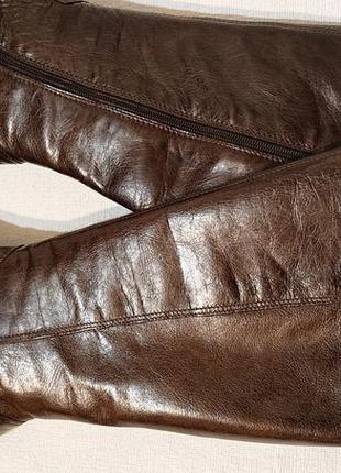 Женские демисезонные сапоги minelli 40р кожа деми сапоги