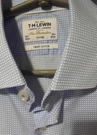 Мужская рубашка t.m.lewin3 фото