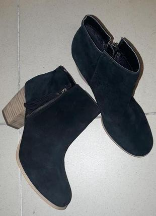 Замшевые ботинки pier one размер 42