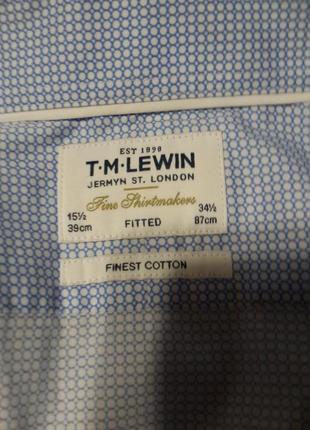 Мужская рубашка t.m.lewin5 фото