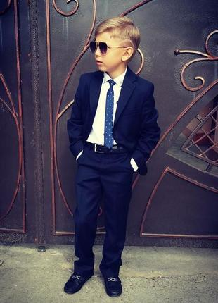 Стильный костюм на мальчика 8 лет