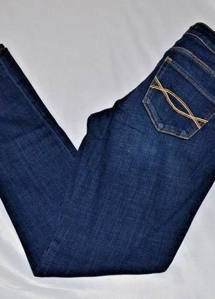 Брендовые темно-синие джинсы от abercrombie & fitch стрейч 4r (99-102 см) w32