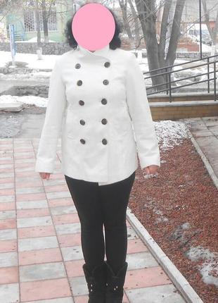 Стильное фирм. пальто, пиджак marks & spencer, р.12 наш 46, оригинал1 фото