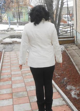 Стильное фирм. пальто, пиджак marks & spencer, р.12 наш 46, оригинал3 фото